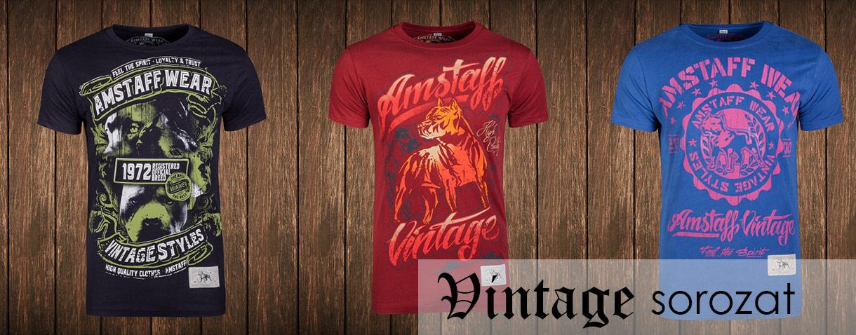 Amstaff Wear Vintage póló