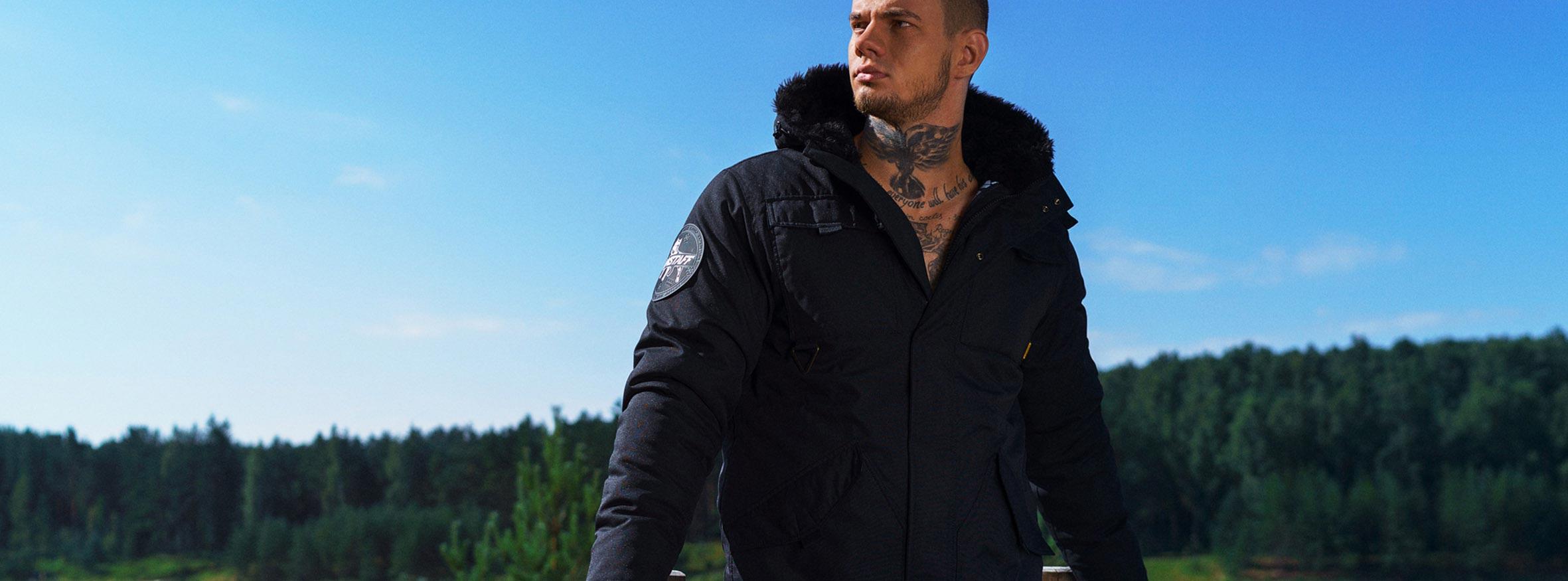 Amstaff Wear férfi kabát